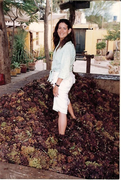 """Melanie Asher says she produces Macchu Pisco as """"the only all-natural spirit in the world."""""""