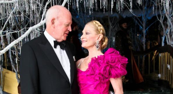 Michael and Susan Pillsbury at the Opera Ball. <i>Photo by Tony Powell.</i>
