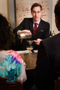 Derek Brown of The Columbia Room teaches ongoing classes to cocktail enthusiasts.
