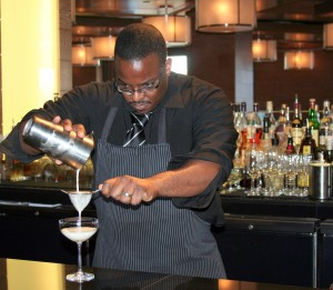 Duane Sylvestre will lead Bourbon Steak's first cocktail class.