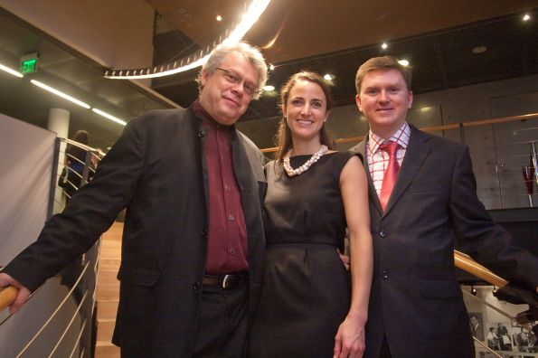 Pekka Hato, Kate Stilwill, and Chris Byrnes