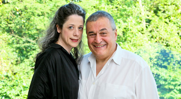 Heather and Tony Podesta. Photo by Tony Powell.