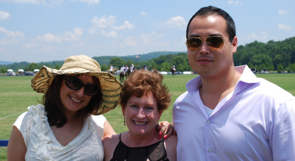 Tina Nader, Carol Kennedy, and Chris Ahn. Photo by Roshan Farazad