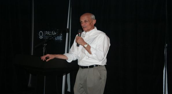 Michael Chertoff is a guest speaker at Palantir Night Live