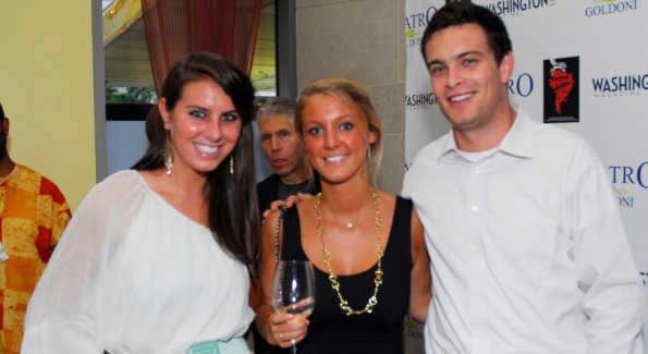 Sarah Rainbolt, Elot Hubbell and Cliff Rose. Photo by Kyle Samperton