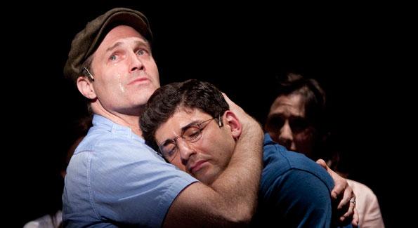 Marc Kudisch and Tony Yazbeck. Photo by Scott Suchman.