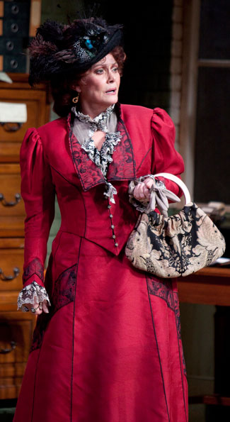 Elizabeth Ashley as Mrs. Warren in the Shakespeare Theatre Company's production of Mrs. Warren's Profession, directed by Keith Baxter. Photo by Scott Suchman.