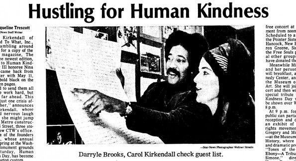 Human Kindness Day - 1974