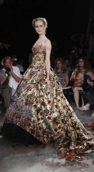 Dress by Franck Sorbier.