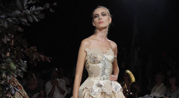 Dress by Franck Sorbier