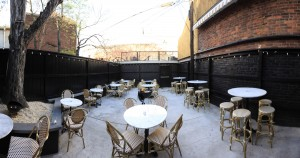 The Gibson's patio offers a more casual vibe and cooling on the rocks libations.