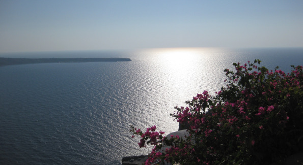 View overlooking the Mediterranean from Chelidonia Villa Suite