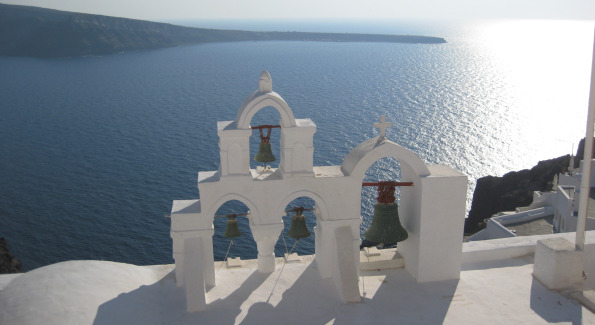 Dazzling view from Oia