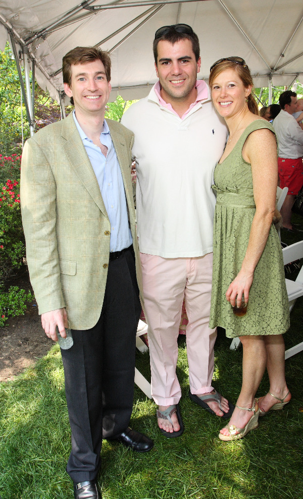 Patrick Gavin with Taylor Griffin and Anne Bracken