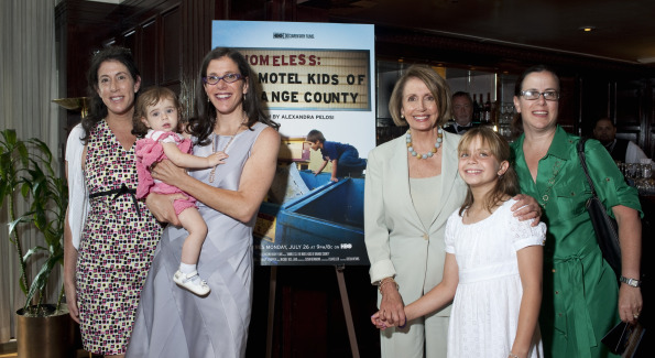 The Pelosi Family. Photo by Susanna Raab