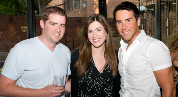 Fox 5's Andrew Nyland, News Channel 8's Natasha Barrett, and Fox 5's Will Thomas.