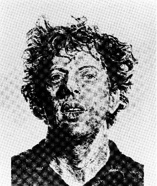Chuck Close, Phil/Fingerprint, 1981. Lithograph, 50 x 38 inches, edition of 36. Vermillion Editions, Minneapolis, printer (Steve Anderson). Pace Editions, Inc., New York, publisher. Courtesy of the artist.