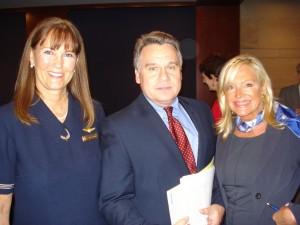 Nancy Rivard, Rep. Chris Smith and Debbie Sigmund. Courtesy Photo.