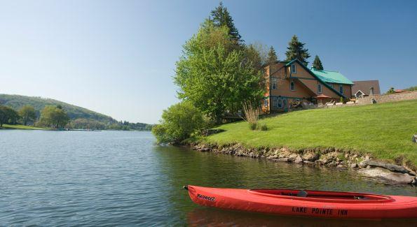 Lake Point Inn.