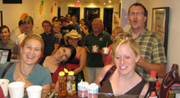 Happy Customers at Yogato