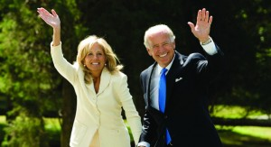 Jill and Joe Biden.