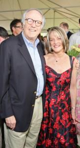 Bob Barnett and Rita Braver.