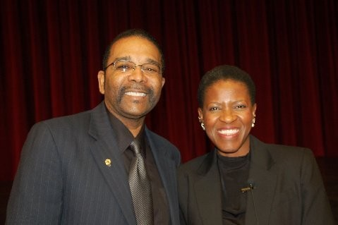 Mr. Wims and Mpho Tutu