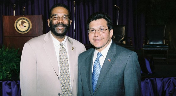Mr. Wims is acknowledged by former Attorney General Alberto Gonzalez