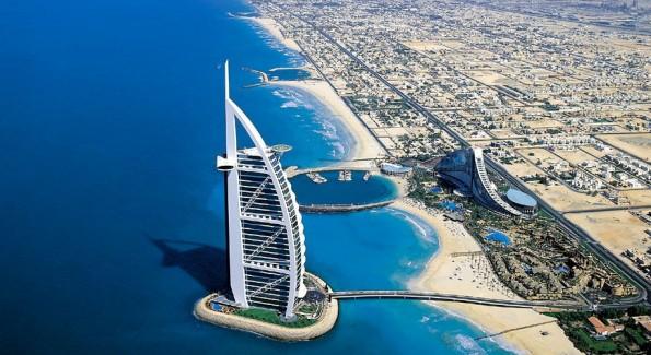 The Burg al Arab in Dubai