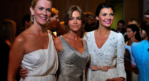 RHWNY Alex McCord, Actress Denise Richards, & Ali Landry. Photos courtesy of Vithaya Phongsavan for SVELTE, LLC.