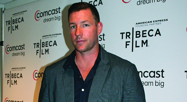 """Actor Ed Burns makes the scene at """"An Evening Celebrating Independent Film & Television.""""  (Photo by Janet Donovan)"""