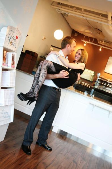 Michelle Snow Bracken and Todd Bracken. Photo by Dani Leigh.