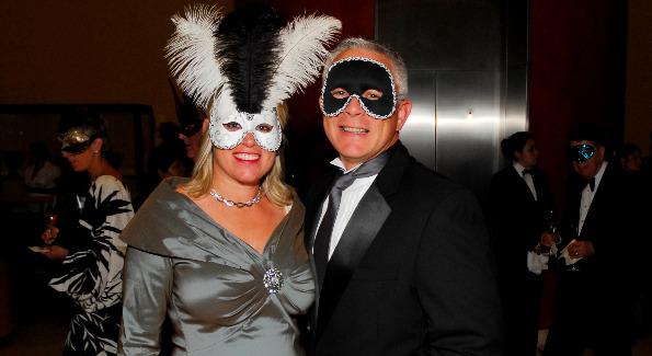Cathy and Paul Williams at the Washington Opera Opening Night Gala. Photo by Kyle Samperton.