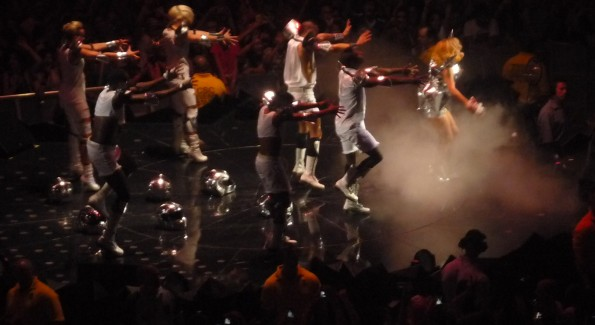 Lady Gaga in concert Tuesday at Verizon Center. Photo by John Arundel
