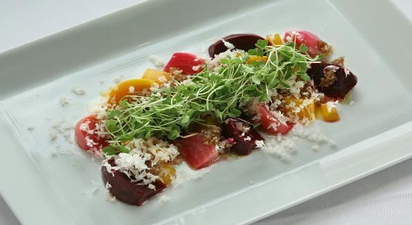 beet salad oval room