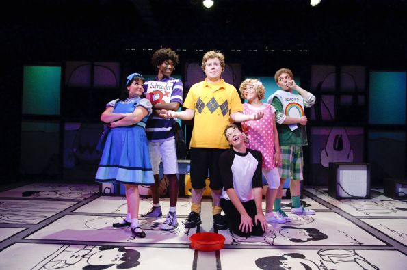 "Happiness is NRTC's production of ""You're A Good Man, Charlie Brown."" Photo by C. Stanley Photography."