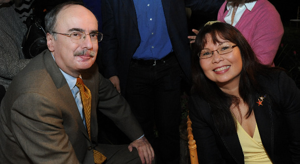 Roger Simon and Tammy Duckworth