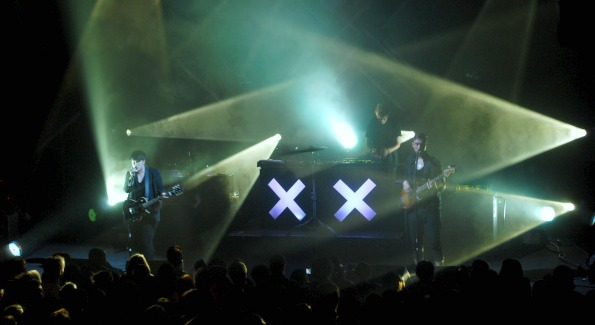 The xx dazzled onstage at 9:30 Club.