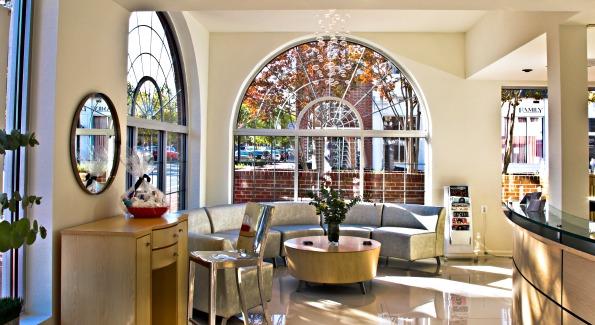 The gorgeous interior at Toka's Alexandia location.
