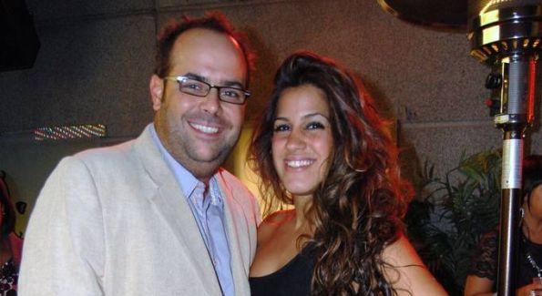 Eden Co-Owner Andre de Moya and MoKi Media Publicist Dannia Hakki. Photos by Darko Zagar Photography