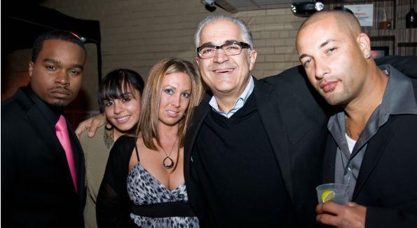 Dr Ayman Hakki and Guests