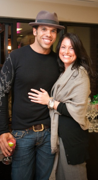 David Washington and Colleen Kittell. Photo by Abby Greenawalt.