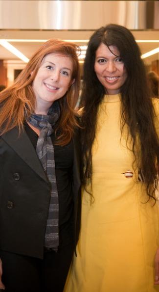 Jayne Sandman and Christina Sevilla.