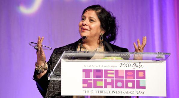 Consuelo Castillo Kickbusch (Gala Awardee). Image courtesy of Dennis Kan.