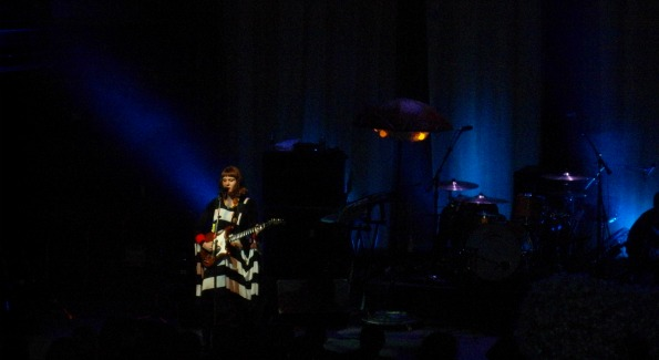 Kate Nash onstage at 9:30 Club.