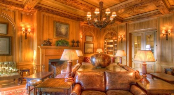 The Smoking Lounge. Photo courtesy of The Cloister at Sea Island.