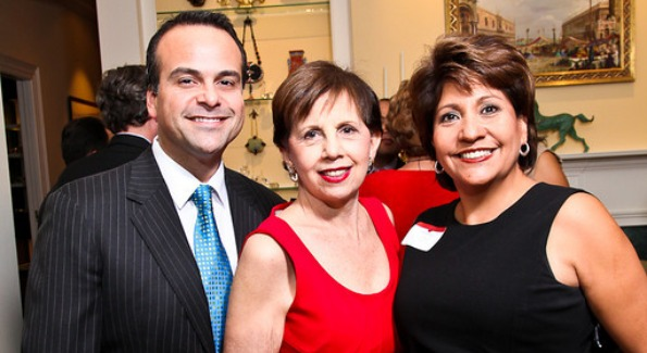 Jorge A. Plasencia, NCLR Board Member and Chairman and CEO República; Adrienne Arsht; and Janet Murguía, President and CEO, NCLR. Photo by Tony Powell.