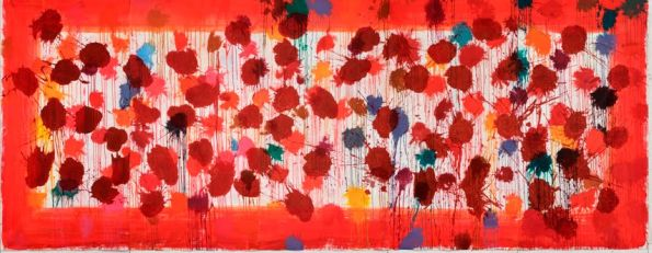 As Time Goes By, by Sir Howard Hodgkin. Photo Courtesy of the Phillips Collection.