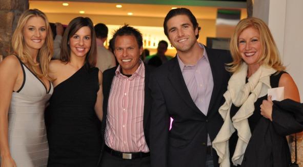 Tiffany Carter, Tara de Nicolas, friend, Steuart Martens and Jessica Gibson. Photo Courtesy of REVAMP.com.