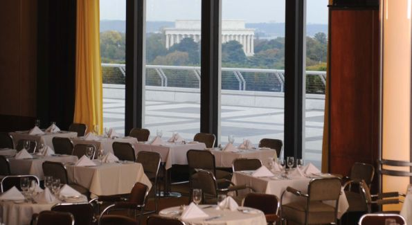 A breathtaking view at Roof Terrace Restaurant. Photo courtesy of Roof Terrace Restaurant.